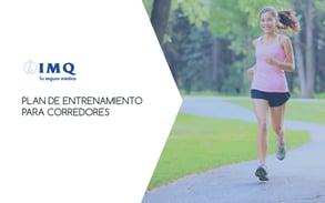 Plan de entrenamiento para corredores